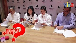 Anne Curtis' BLK Cosmetics at WFF nagkaroon ng contract signing