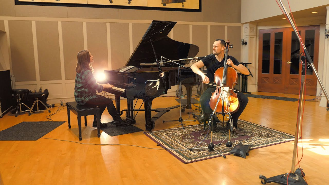 Coldplay - The Scientist (Cello & Piano) - Brooklyn Duo