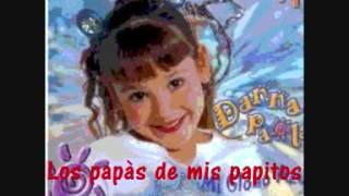 """Danna Paola - Mi Globo Azul """"Los papàs de mis papitos"""""""