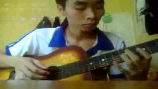 Phượng Hồng guitar solo by nuce