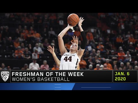 Oregon State Beavers - Taylor Jones OSU basketball player named Pac-12 Freshman of the week again!