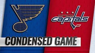 01/14/19 Condensed Game: Blues @ Capitals
