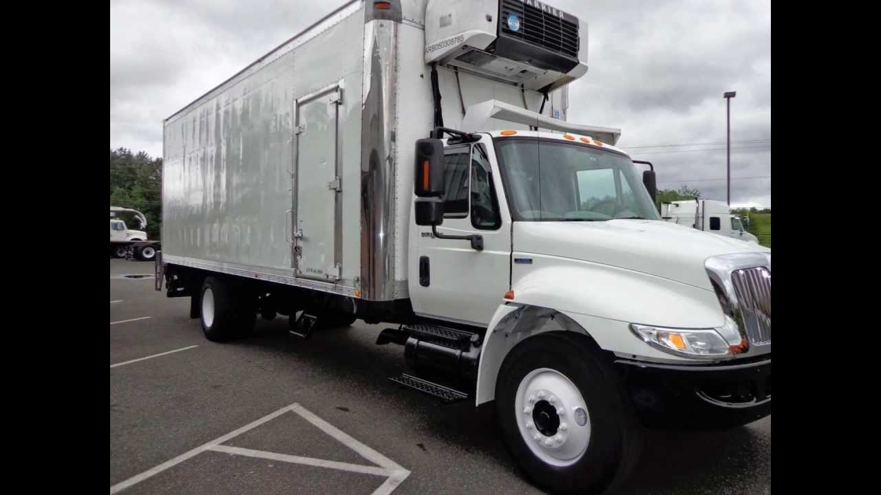 Refrigerated Truck Sale 2009 International 4300 26 Ft