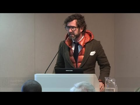 "David Netto: ""Designing Interiors (The Part They Forgot to T"