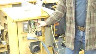 Router Table W Electric Lift And Air Brakes 001