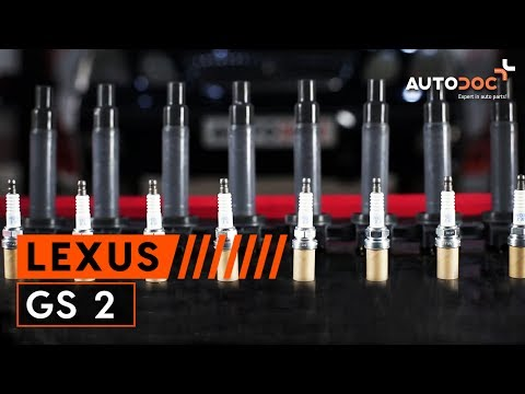 How to replace ignition coils and spark plugs LEXUS GS 2 TUTORIAL | AUTODOC
