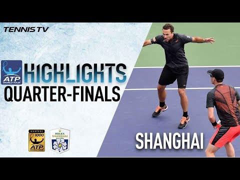 Doubles Highlights: Murray, Soares Into Shanghai 2017 Semi Finals