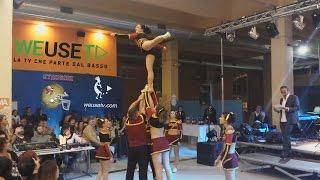 Labronic Cheer Team (Italian cheerleading champions) ft #camminatorifolli