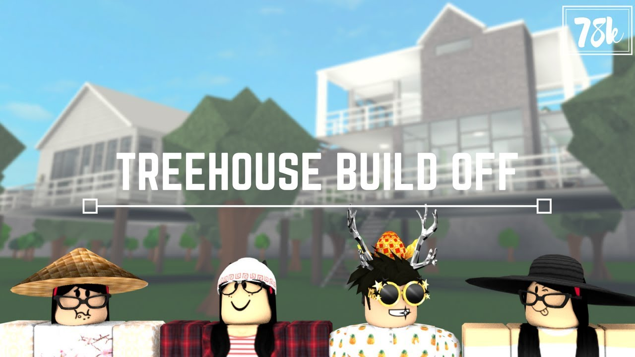 Roblox Welcome To Bloxburg Treehouse Build Off With Asianmim