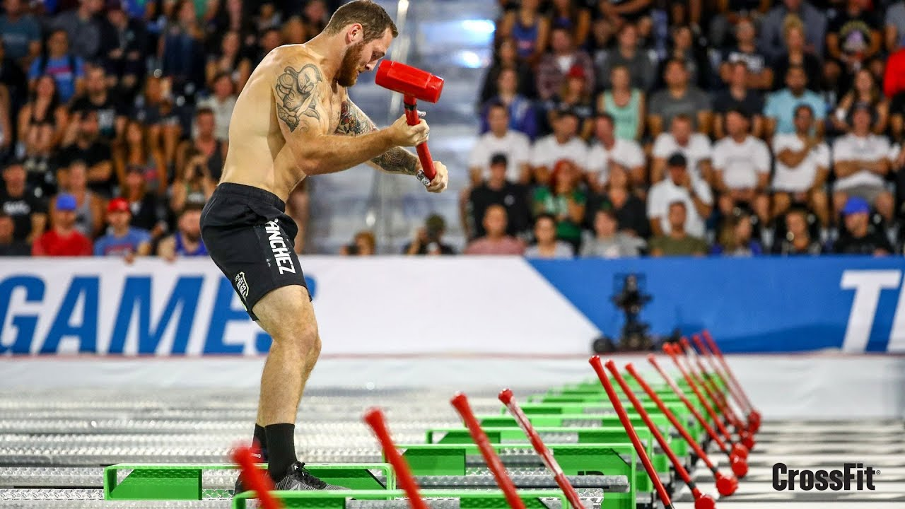 The Crossfit Games Individual Assault Banger Youtube