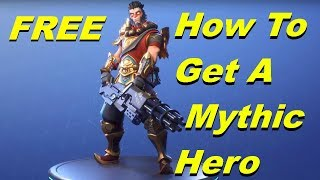 How To Get A Mythic Hero! (New Event Store Items) Fortnite Save The World