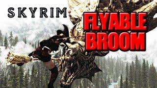 Skyrim Mod Mondays: Flyable Broomstick