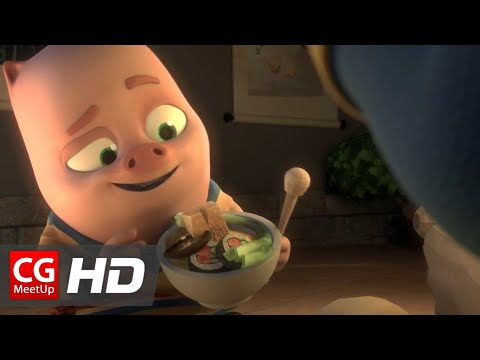 "CGI Animated Short Film HD: ""The Hungry Buddhists Short Film"" by Yunhao Zhang"