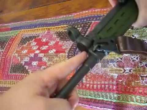 PTR91 Bayonet Installation