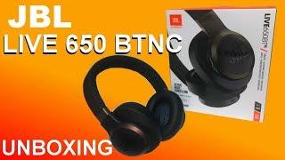 JBL LIVE 650BTNC - UNBOXING
