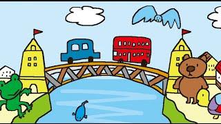 歌付きバージョンのLondon Bridge Is Falling Down「ロンドン橋落ちた」...