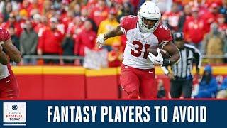 Players you should AVOID in Fantasy drafts: David Johnson, Amari Cooper | Fantasy Football Today
