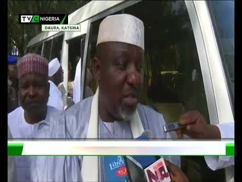 APC Governors visit Buhari in Daura