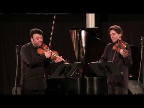 Igudesman's Klezmers Freilach performed by Philippe Quint and Vadim Gluzman