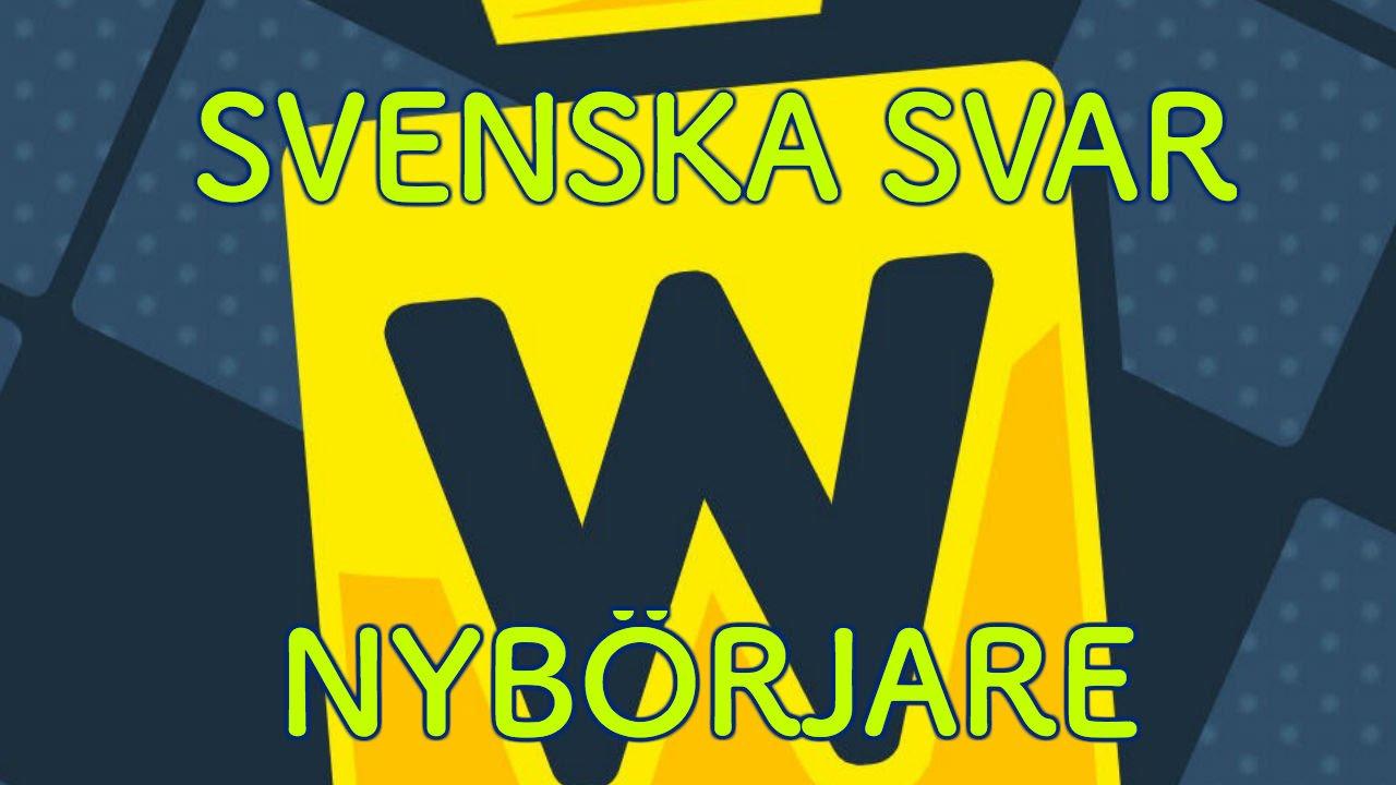 Svenska ar svaret