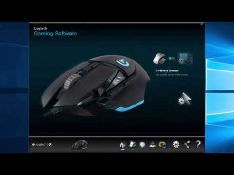 Logitech Proteus G502 Gaming Mouse+Software Review!