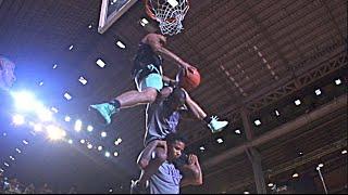 Glen Rice Reacts to 6'1 Jordan Kilganon Jumping OVER 2 PEOPLE