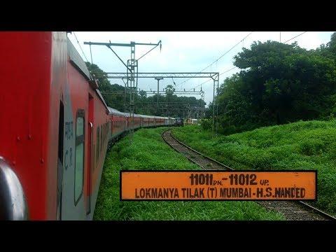11011 Mumbai LTT - Nanded Express   LHB Rake - AC 3-Tier   Mumbai LTT to Pune Junction