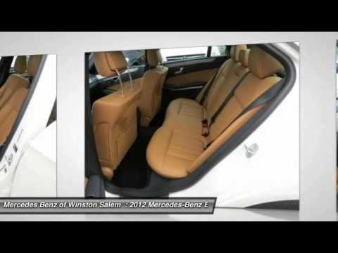 2012 mercedes benz e class winston salem nc p6810 youtube. Black Bedroom Furniture Sets. Home Design Ideas