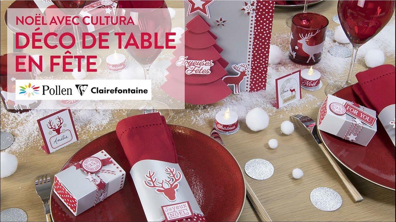 DIY Créatif : Déco De Table En Fête   Noël Cosy