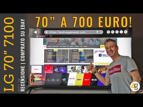 LG 70 pollici a 700 euro su EBAY AFFARE! e Recensione 70UM7100