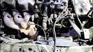 Замена двигателя  Daewoo Matiz  Дэу Матиз 0,8 автомат 2007 года  1часть
