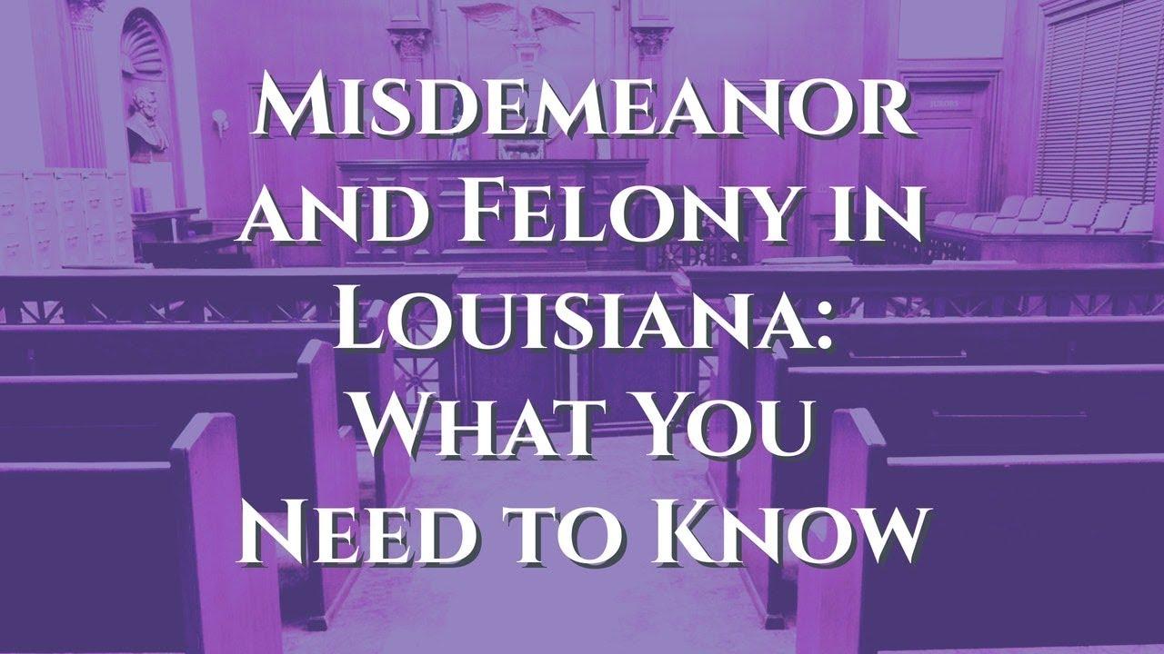 Louisiana Misdemeanor and Felony Drug Charge | Drug Charge Lawyer
