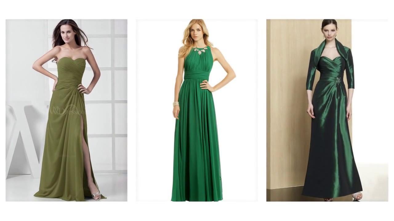Top 100 Green Dresses, Emerald Green Prom Dress For Women