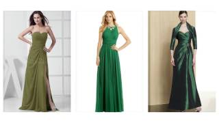 Top 100 Green dresses, emerald green prom dress for women