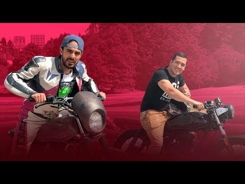 BERTH VS JUCA Carreras en moto!