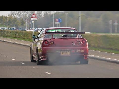 Sportcars Accelerating! 599 GTO, Aventador Roadster, M850i, Urus, Skyline R34 GTR & More!
