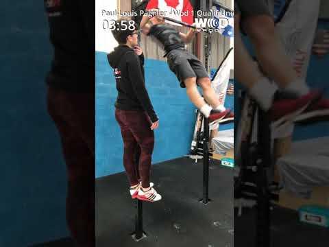 Wod 1 Qualification Unicorn Throwdown 2019 Crossfit Youtube