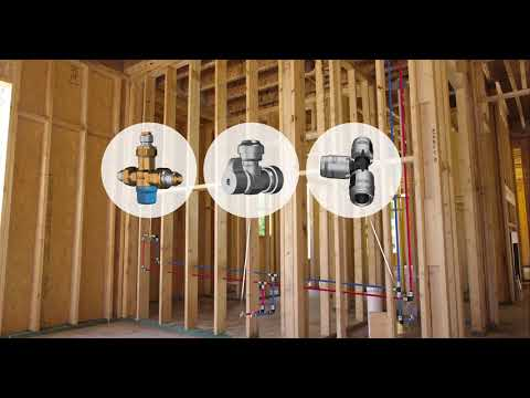 EvoPEX-Plumbing-System - How to Plumb an Entire Water Pipe Installation with NO TOOLS