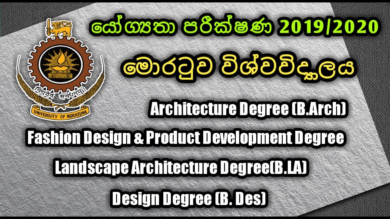 Aptitude Test Applications Of Moratuwa University 2019 2020 Shan Creation Youtube