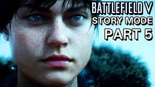 Battlefield V Kampagne PC ULTRA Gameplay German - Stille Nacht