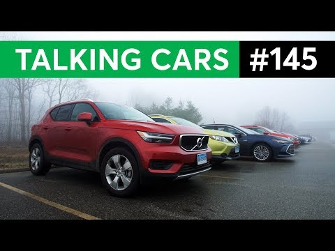 Special Visitor; Entry Level SUVs or Hatchbacks? | Talking Cars with Consumer Reports #145