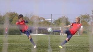 漫畫說的都是真的 足球小將翼 雙人射門 絕技重現