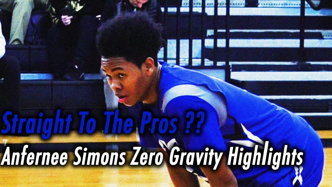 None and Done   Anfernee Simons may bypass the NCAA. Zero Gravity ... 540495ac5