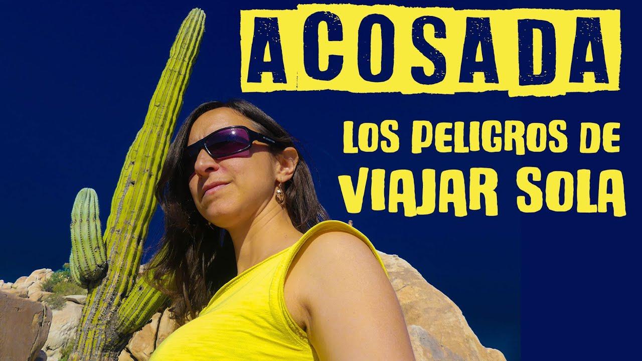 ME ACOSAN rumbo al DESIERTO DE CATAVIÑA | Viajar sola en México | FurgoVlog 15