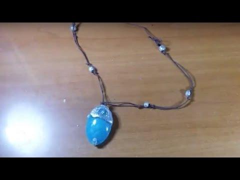 DIY- Cum sa faceți colierul Moanei din filmul Vaiana | Moana necklace & Tefiti heart from Vaiana