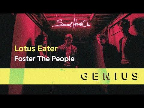 Foster The People - Lotus Eater (Lyric Video)