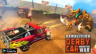 Demolition Derby Monster Car Wars