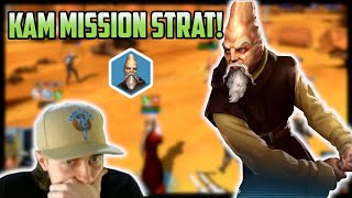 Ki-Adi-Mundi Mission Modding and Strategy! Fix The Burn CG | SWGoH