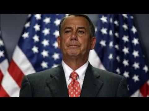 Eric Cantor on  Boehner's resignation