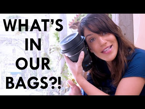 What's in our Camera Bags?